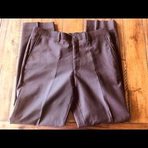 Calvin Klein Dress Pants - Wine - 34X32